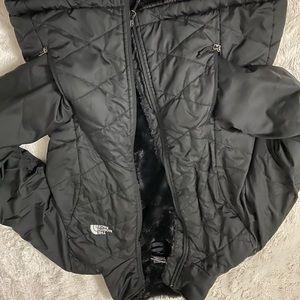 Small North Face Winter Coat Black